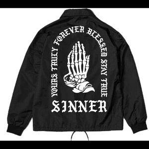 Phora sinner windbreaker/jacket sz M